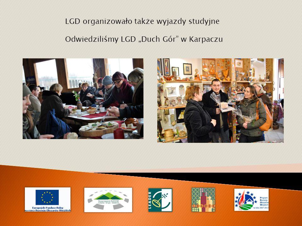 """LGD organizowało także wyjazdy studyjne Odwiedziliśmy LGD """"Duch Gór w Karpaczu"""