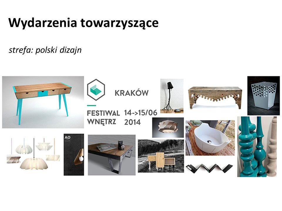 Wydarzenia towarzyszące strefa: polski dizajn