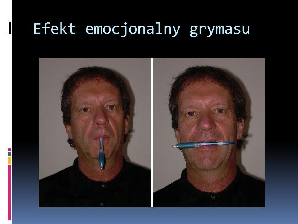 Efekt emocjonalny grymasu