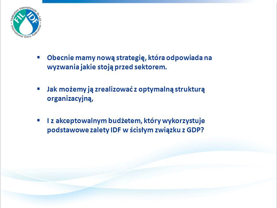 Obecnie mamy nową strategię, która odpowiada na wyzwania jakie stoją przed sektorem.