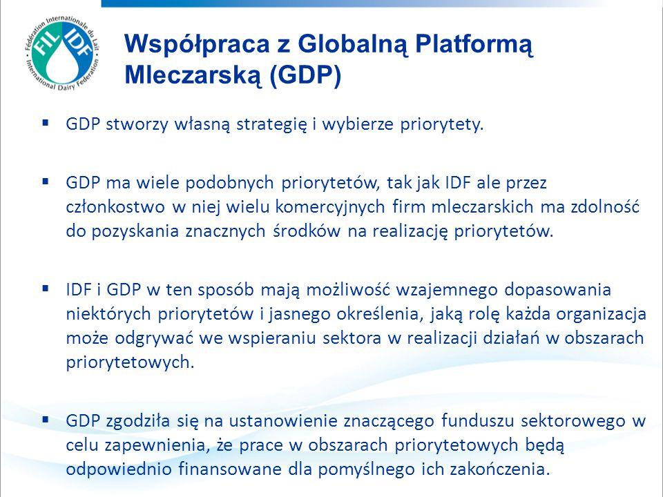  GDP stworzy własną strategię i wybierze priorytety.