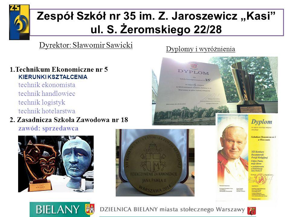 Dyrektor: Sławomir Sawicki 1.Technikum Ekonomiczne nr 5  KIERUNKI KSZTAŁCENIA  technik ekonomista  technik handlowiec  technik logistyk  technik
