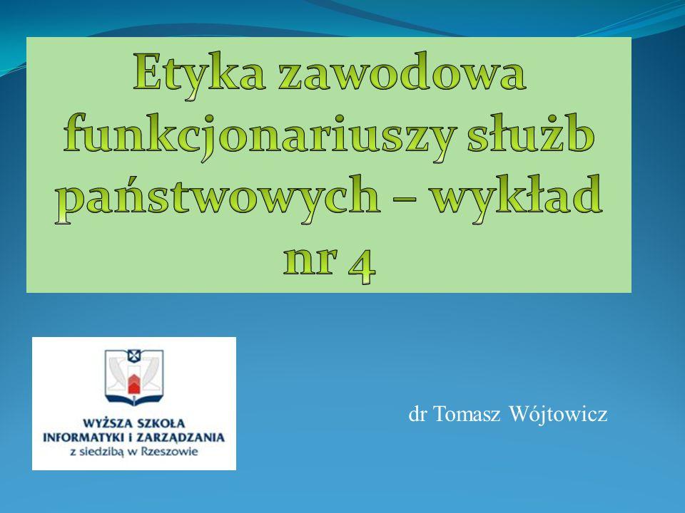 dr Tomasz Wójtowicz