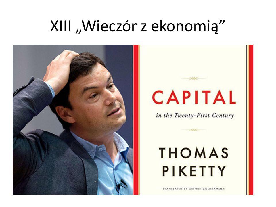 """XIII """"Wieczór z ekonomią"""