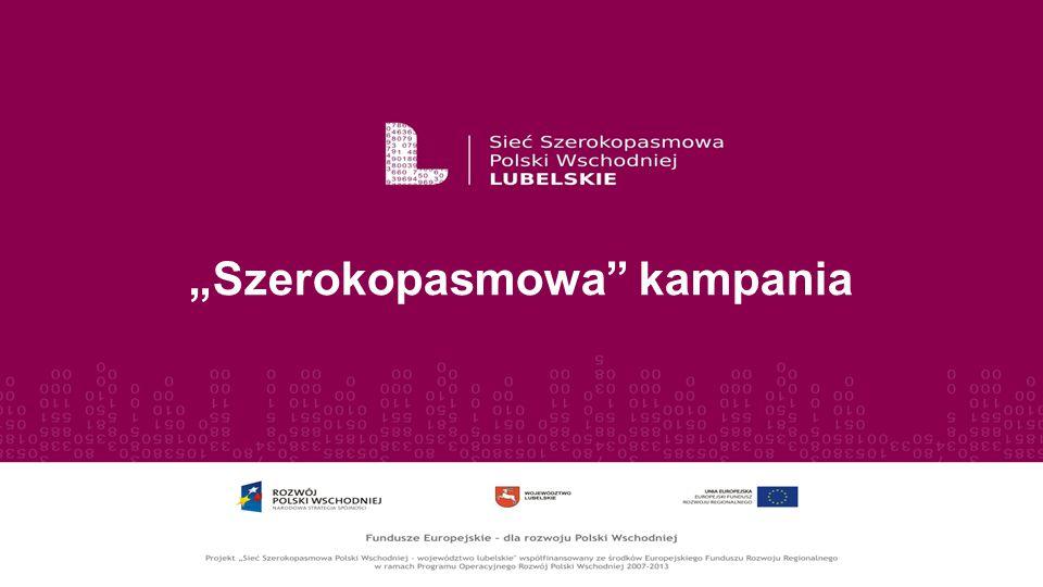 """Szerokopasmowa"" kampania"
