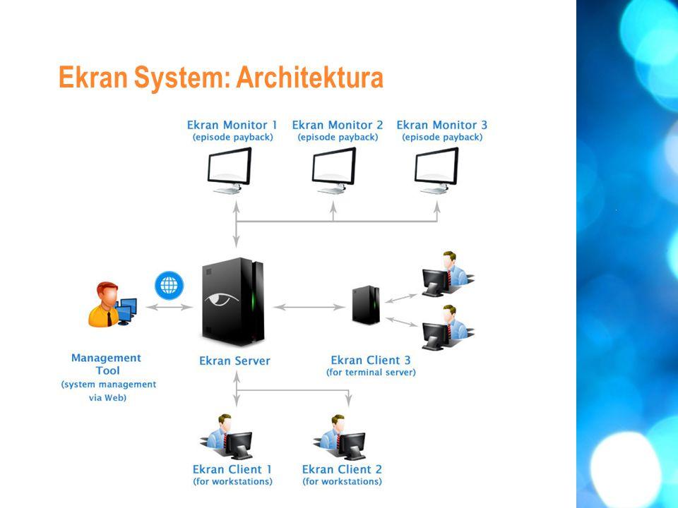 Ekran System: Architektura