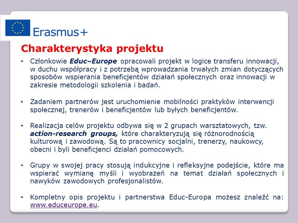 Educ-Europe: research-action seminary in Poland 18-22 maja 2015 roku rozpocznie się druga, ostatnia sesja naukowo-badawcza dwóch grup warsztatowych - action-research groups, powołanych w listopadzie 2014 na sesji w Paryżu do prac nad problematyką rozwoju upodmiotowienia wychowawców i beneficjentów w obszarze młodzieży zagrożonej wykluczeniem społecznym.
