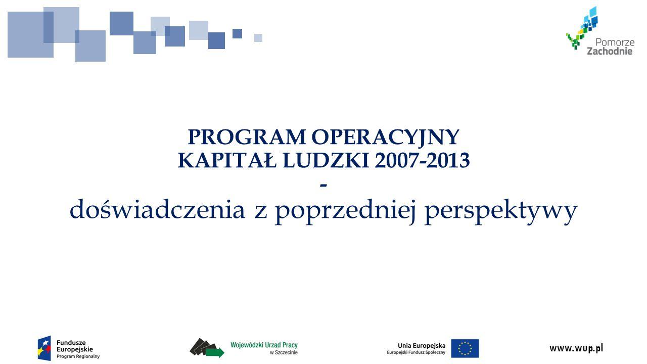 www.wup.pl Działanie 9.2 Infrastruktura społeczna Typy projektów: 1.Odbudowa, przebudowa, modernizacja i wyposażenie mieszkań chronionych.