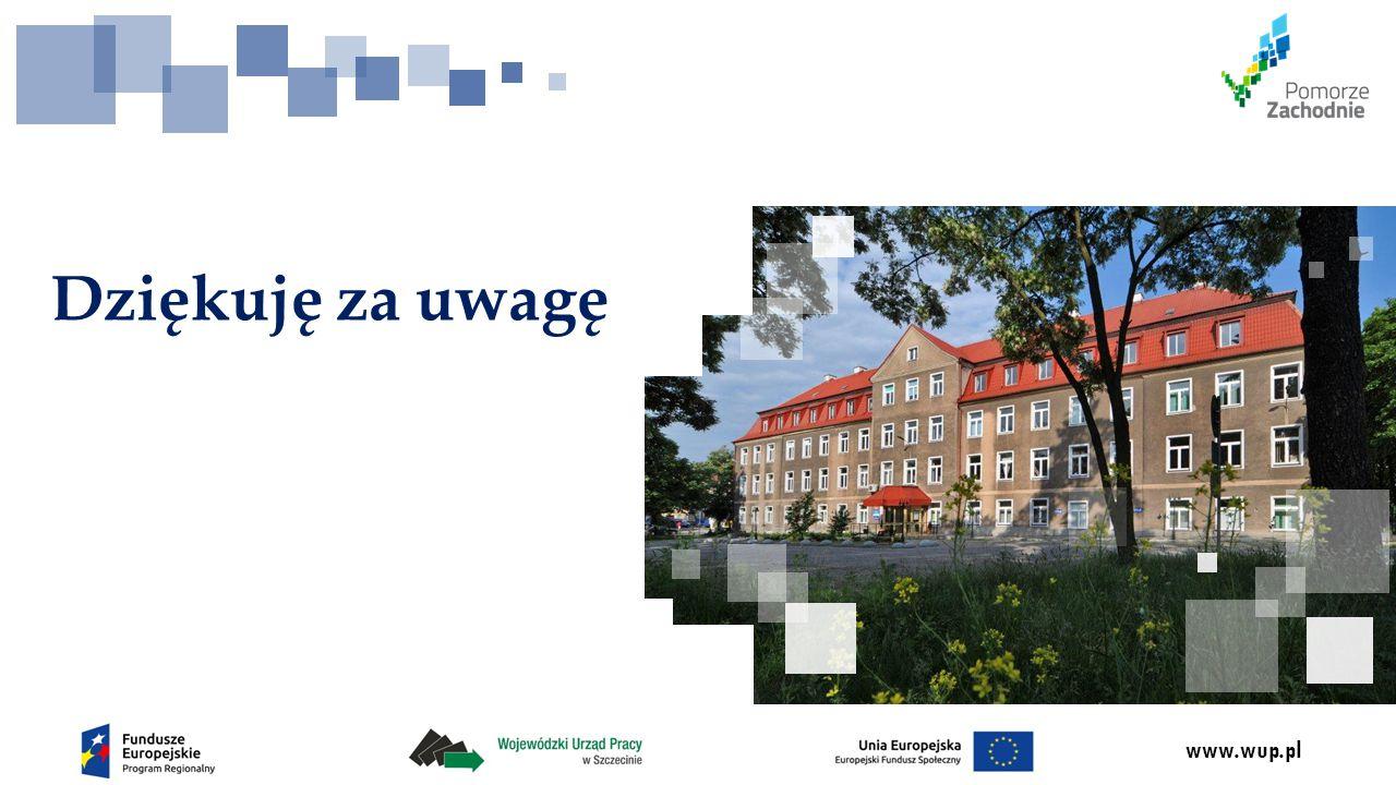 www.wup.pl Dziękuję za uwagę