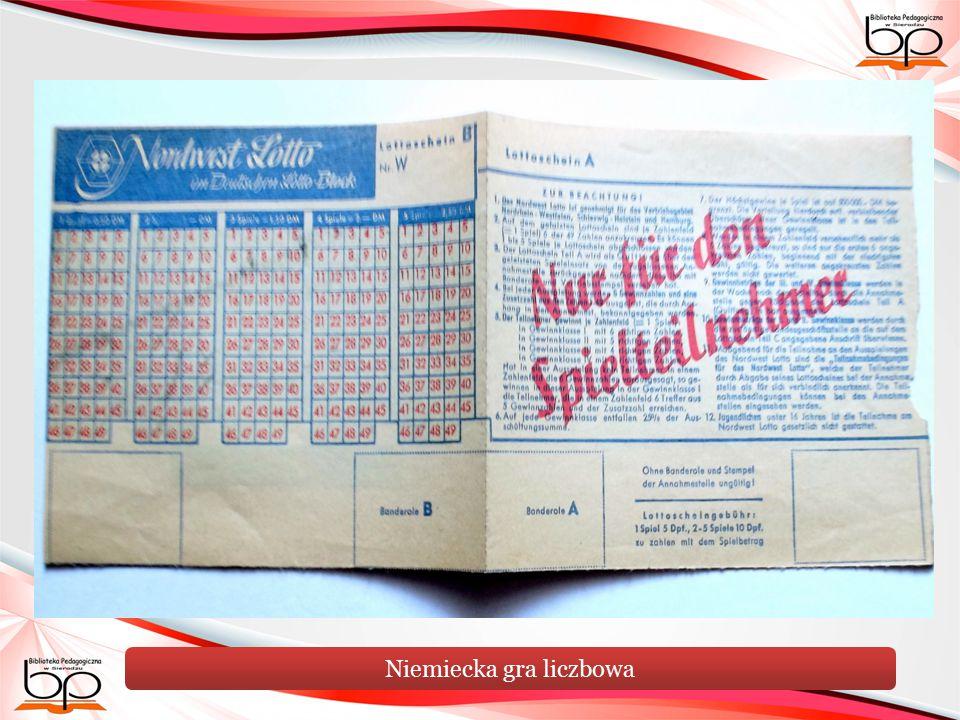 Niemiecka gra liczbowa