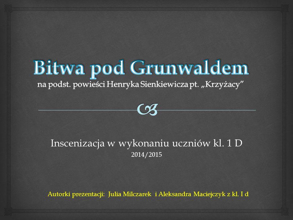 Inscenizacja w wykonaniu uczniów kl.