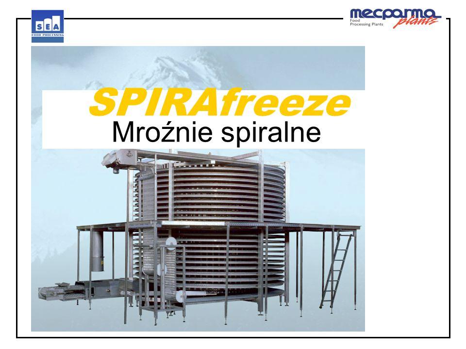 SPIRAfreeze Mroźnie spiralne