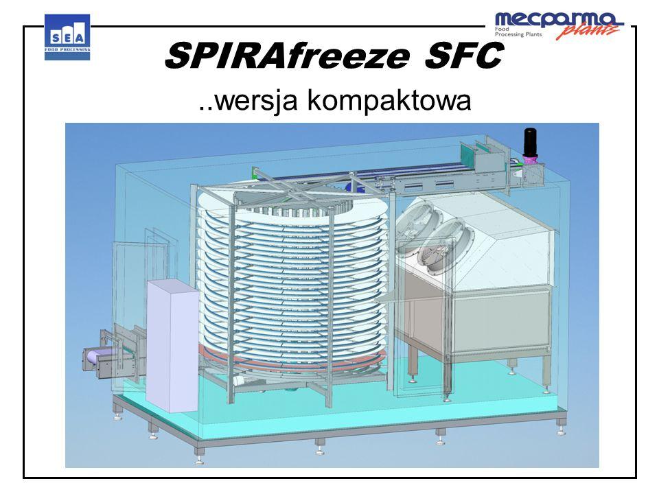 SPIRAfreeze SFC..wersja kompaktowa