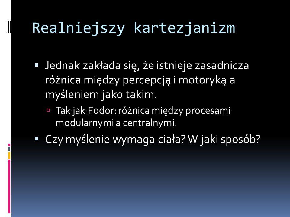 Filozofia i ciało w XX w.