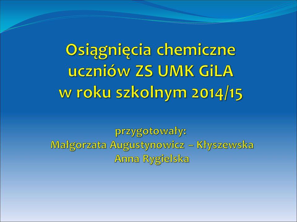 Zestawienie ilościowe FormaLiczba uczestnikówOsiągnięcia XXI edycja Konkursu Młodych Naukowców Unii Europejskiej EUCYS 2015 3 uczestników Festiwal Młodych Badaczy ODKRYCIA w dniach 20-22 marca w Centrum Nauki Kopernik w Warszawie.