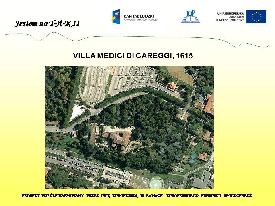 VILLA MEDICI DI CAREGGI, 1615