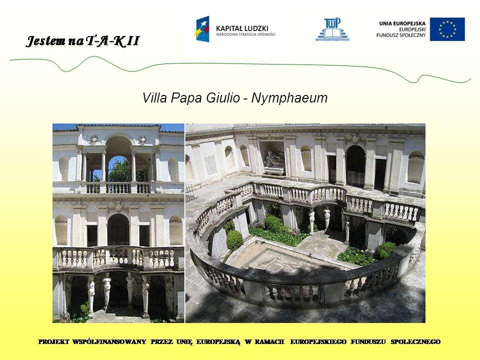 Villa Papa Giulio - Nymphaeum