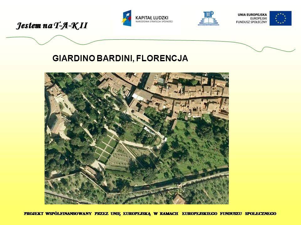 GIARDINO BARDINI, FLORENCJA