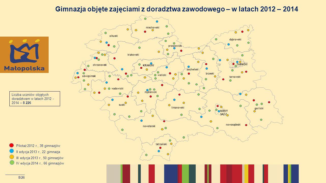 9/26 Targi edukacyjne – Festiwal Zawodów w Małopolsce w 2013 roku
