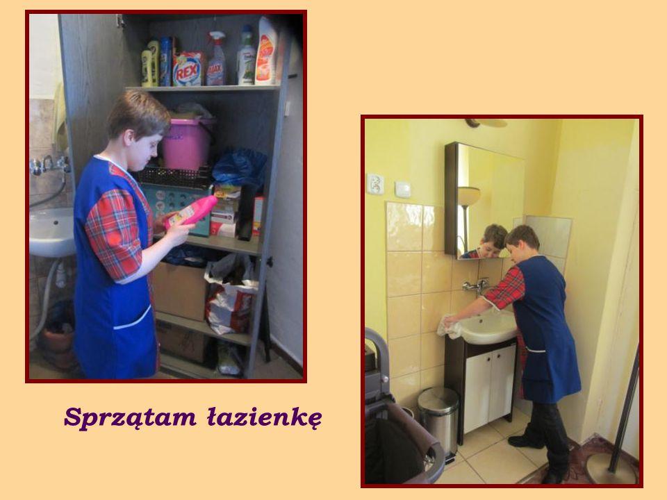 Uczę się również jak prawidłowo wykonywać prace pomocnicze w gastronomii hotelowej.