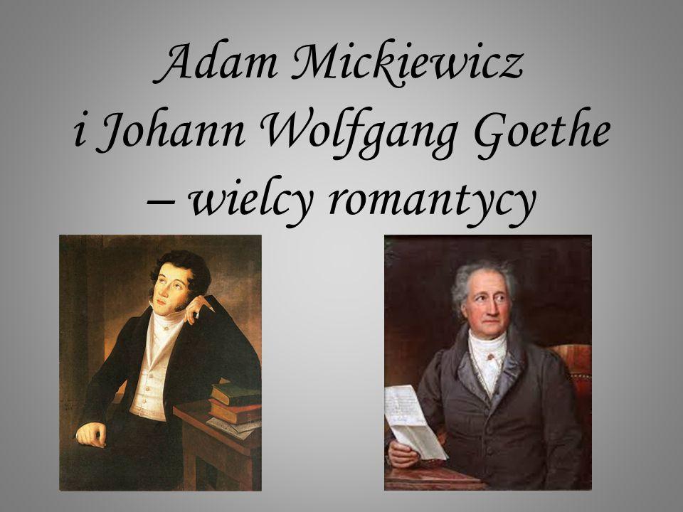 Cierpienia młodego Wertera Jest to utwór uważany za najważniejsze dzieło epoki romantyzmu.