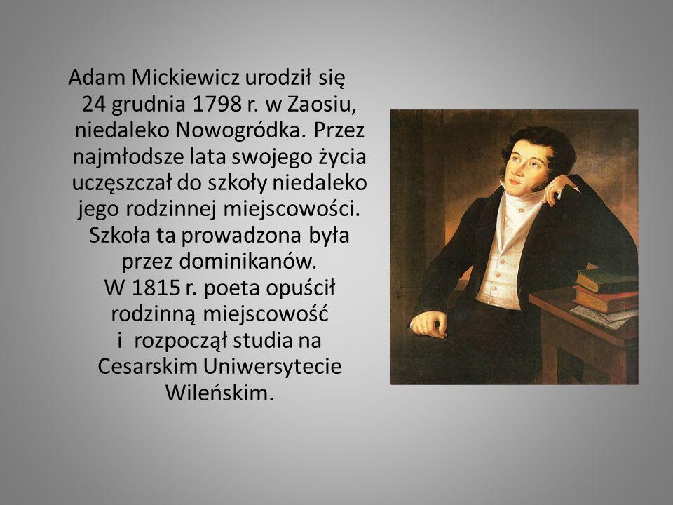 Po skończeniu studiów w 1819 r.