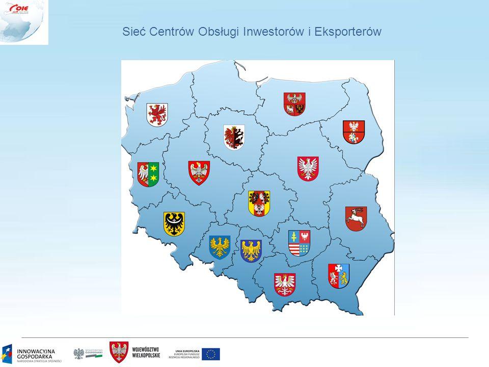 Sieć Centrów Obsługi Inwestorów i Eksporterów
