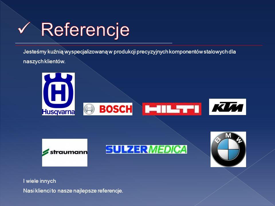 Jesteśmy kuźnią wyspecjalizowaną w produkcji precyzyjnych komponentów stalowych dla naszych klientów.