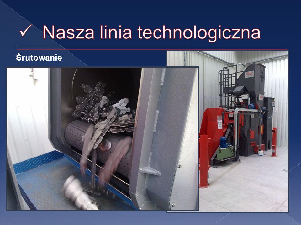 Śrutowanie Piaskarka stanowi jeden z najważniejszych maszyn w procesie produkcji odkuwek firmy SCHRANER.