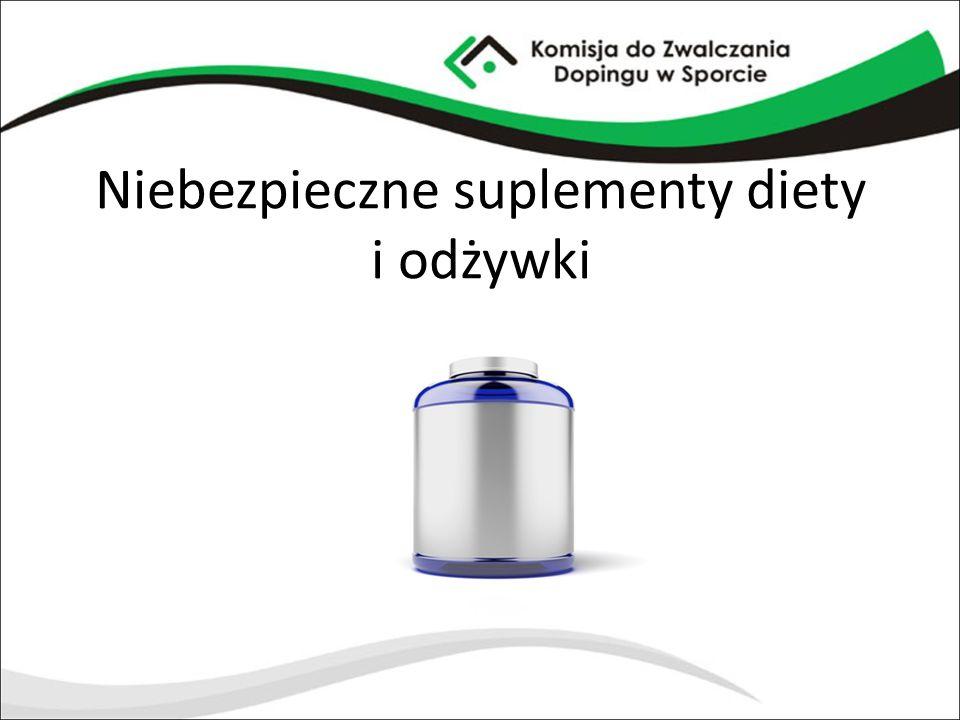 Niebezpieczne suplementy diety i odżywki
