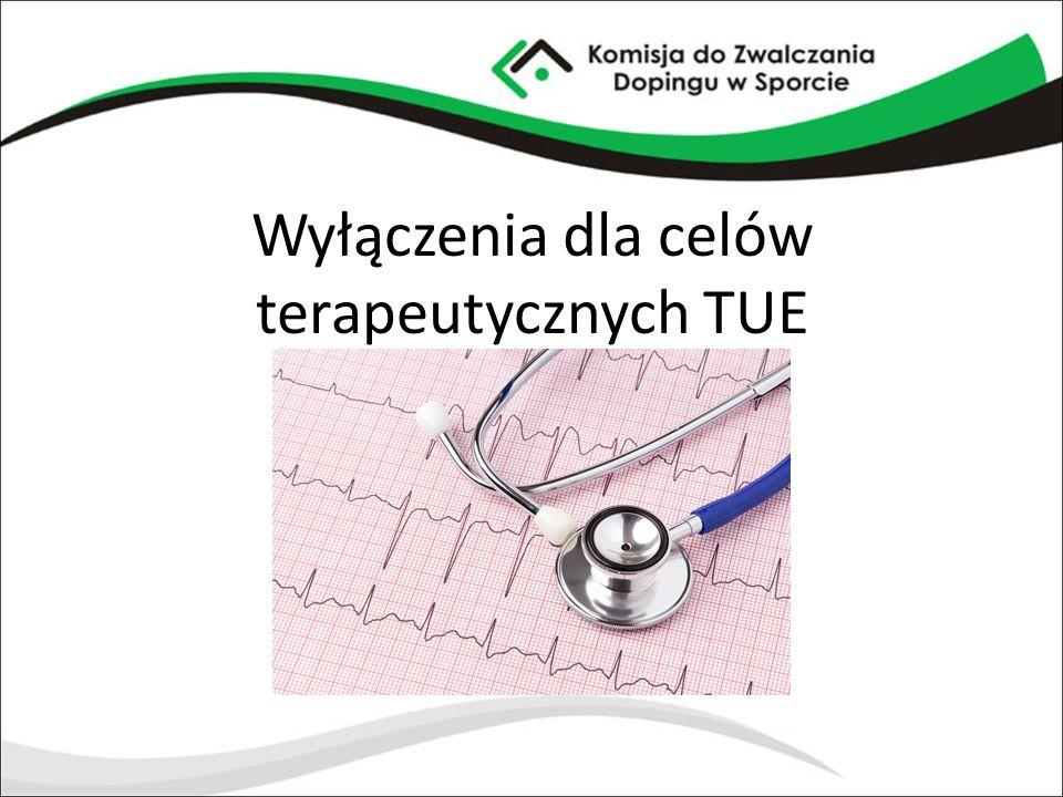 Wyłączenia dla celów terapeutycznych TUE