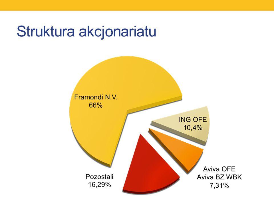 Struktura akcjonariatu