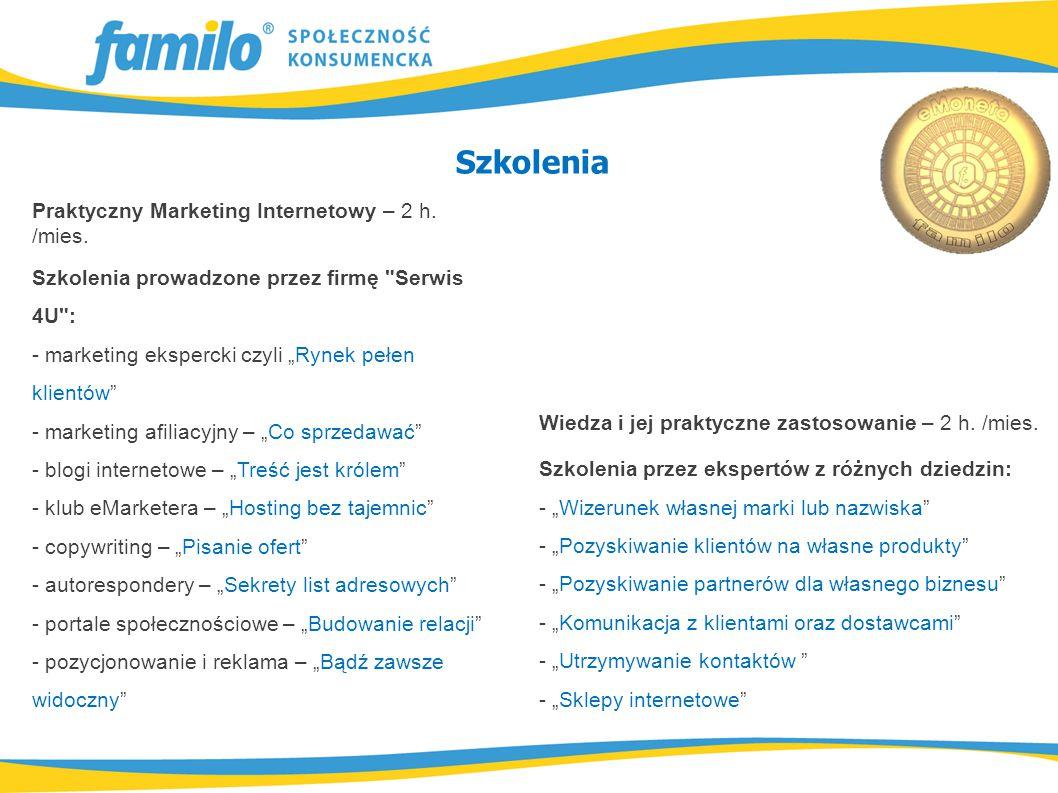 Praktyczny Marketing Internetowy – 2 h. /mies.