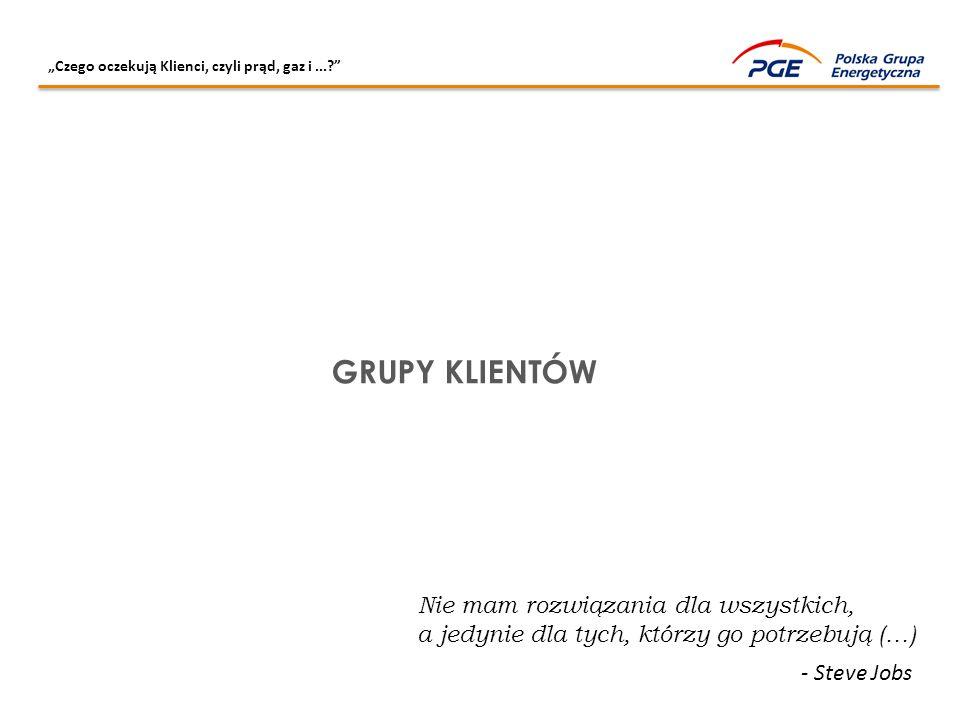 """""""Czego oczekują Klienci, czyli prąd, gaz i...? KATEGORIA: """"ENERGETYKA"""