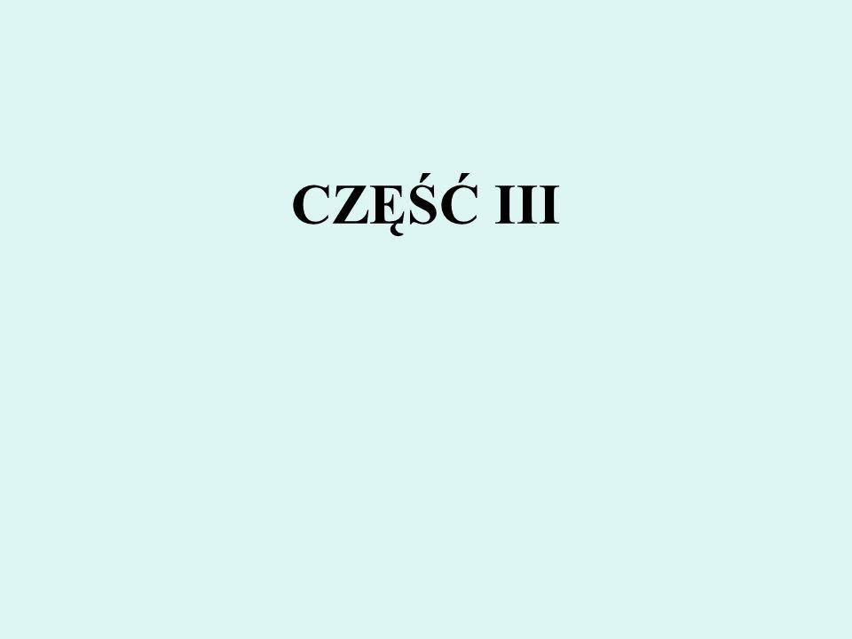 CZĘŚĆ III