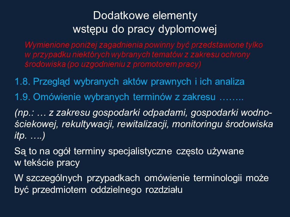 Podstawowa terminologia definicje i omówienie pojęć związanych z przedmiotem pracy i problemem badawczym