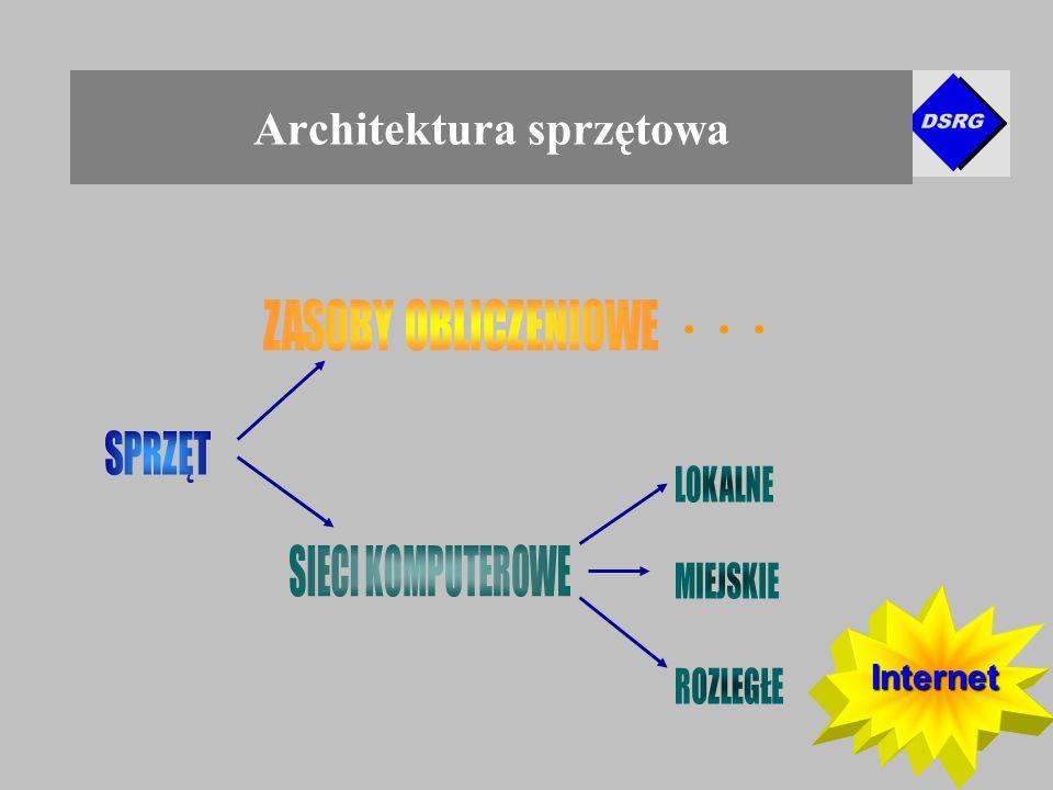 Internet Architektura sprzętowa