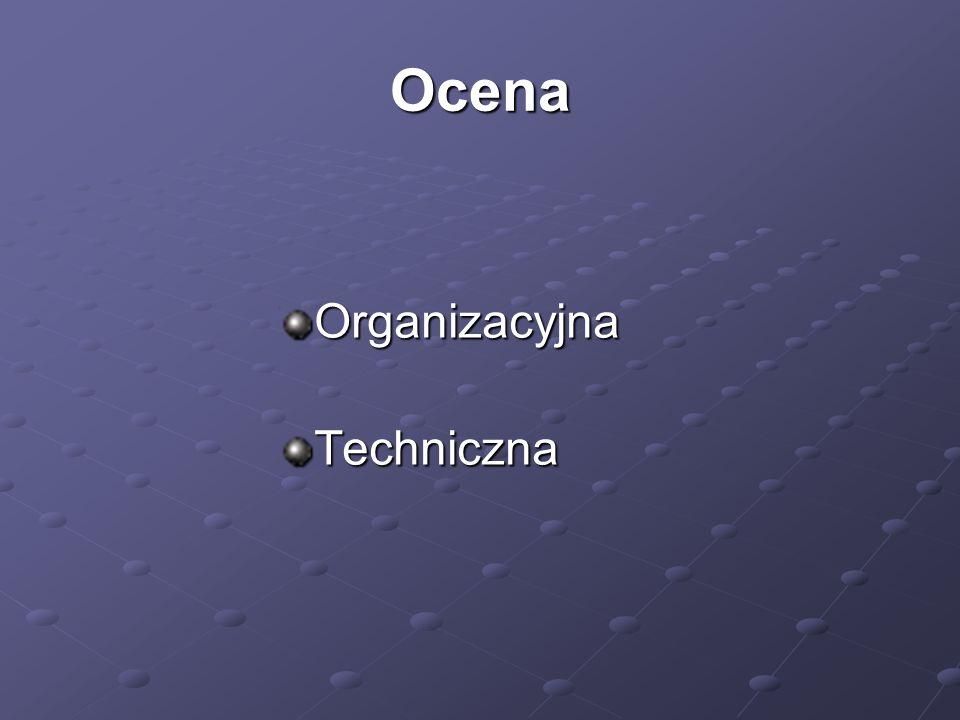 Ocena OrganizacyjnaTechniczna