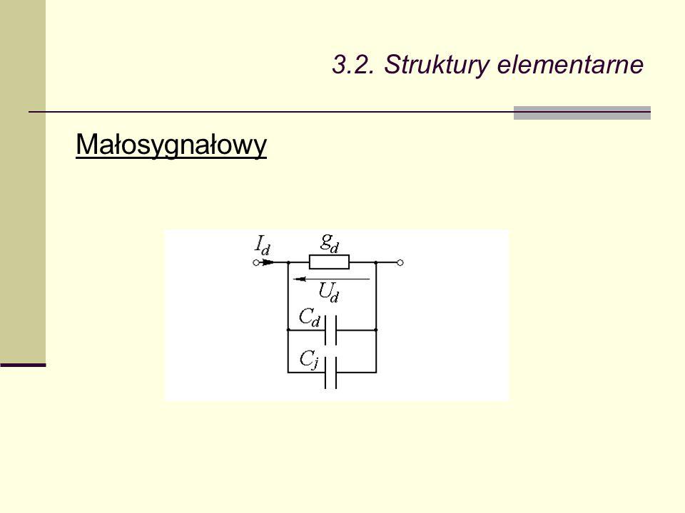 3.2. Struktury elementarne Małosygnałowy