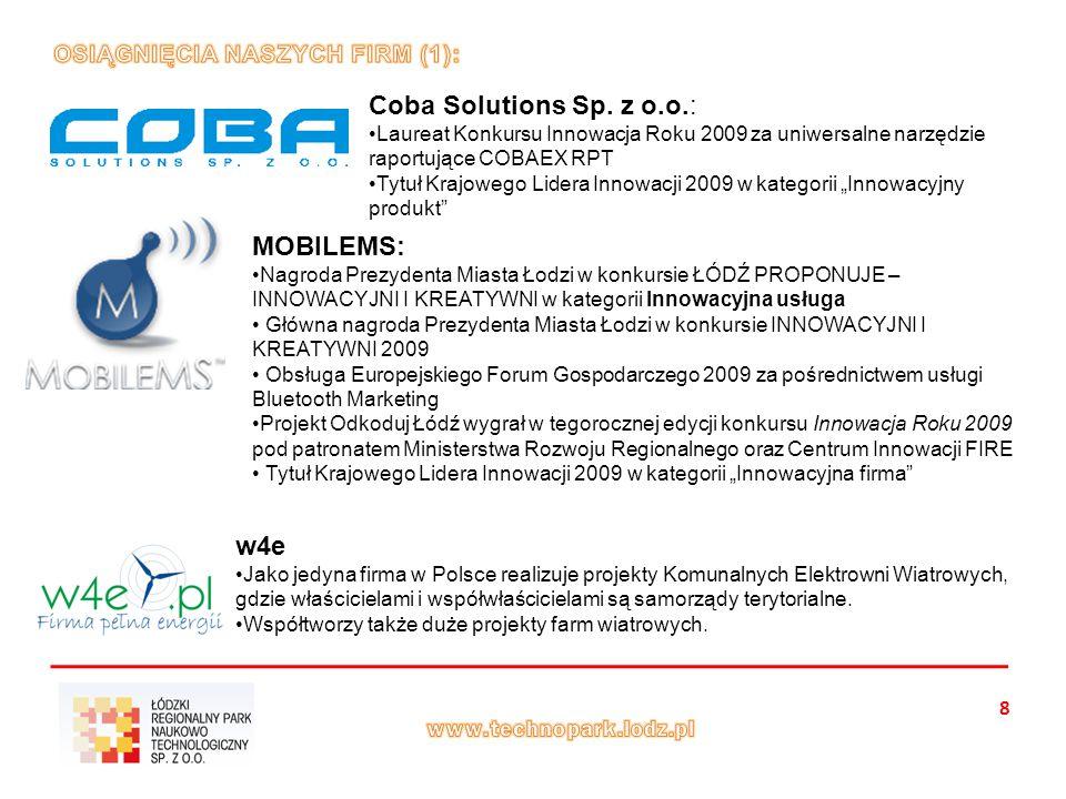 8 Coba Solutions Sp.