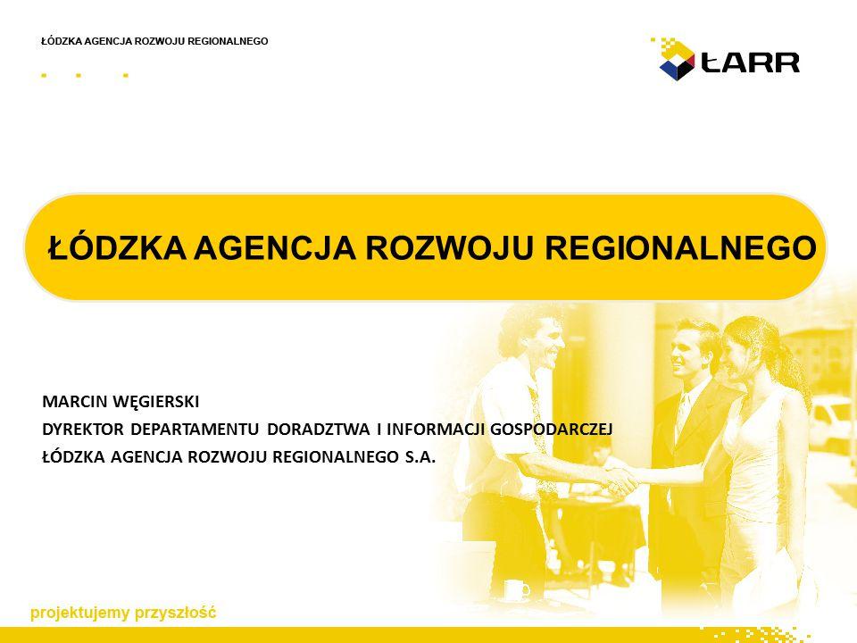 """DOŚWIADCZENIA SPÓŁKI - WKP Sektorowy Program Operacyjny """"Wzrost Konkurencyjności Przedsiębiorstw (WKP) miał poprzez wykorzystanie zasobów sfery naukowo-badawczej oraz korzyści związanych ze stosowaniem nowoczesnych technologii poprawić pozycji konkurencyjną polskich przedsiębiorstw, ze szczególnym uwzględnieniem MSP W ramach WKP w latach 2004-2006 ŁARR odpowiadał za wdrażanie następujących projektów:  """"Dotacje na inwestycje – 262 wnioski o łącznej wartości 126,1 mln PLN  """"Dotacje na doradztwo – 83 wnioski o łącznej wartości 2,98 mln PLN"""