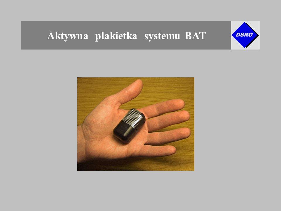 Aktywna plakietka systemu BAT