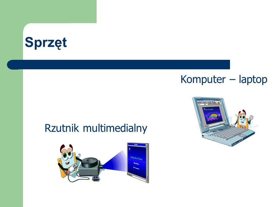 Sprzęt Komputer – laptop Rzutnik multimedialny