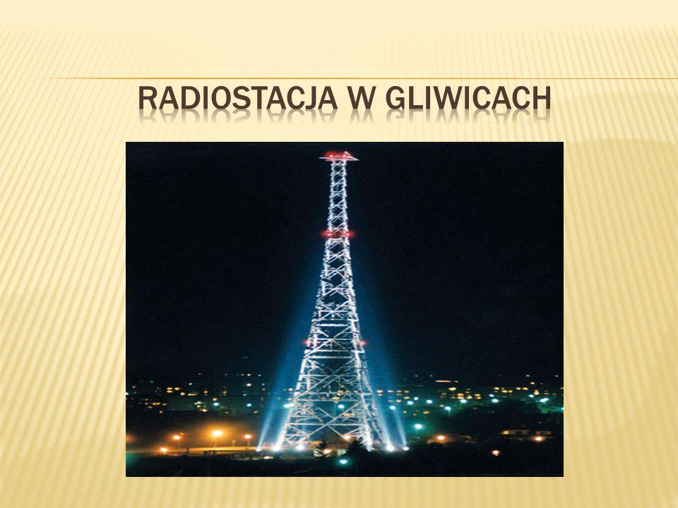 Pierwsza radiostacja w Gliwicach powstała w 1925roku by rozszerzyć zasięg wrocławskiej rozgłośni, Schlesische Funkstunde na wschodnie tereny niemieckiego Śląska, a zwłaszcza na zachodnie ziemie polskie, gdzie miała służyć celom propagandowym.Schlesische Funkstunde Budynek na użytek radiostacji wzniesiono przy obecnej ul.