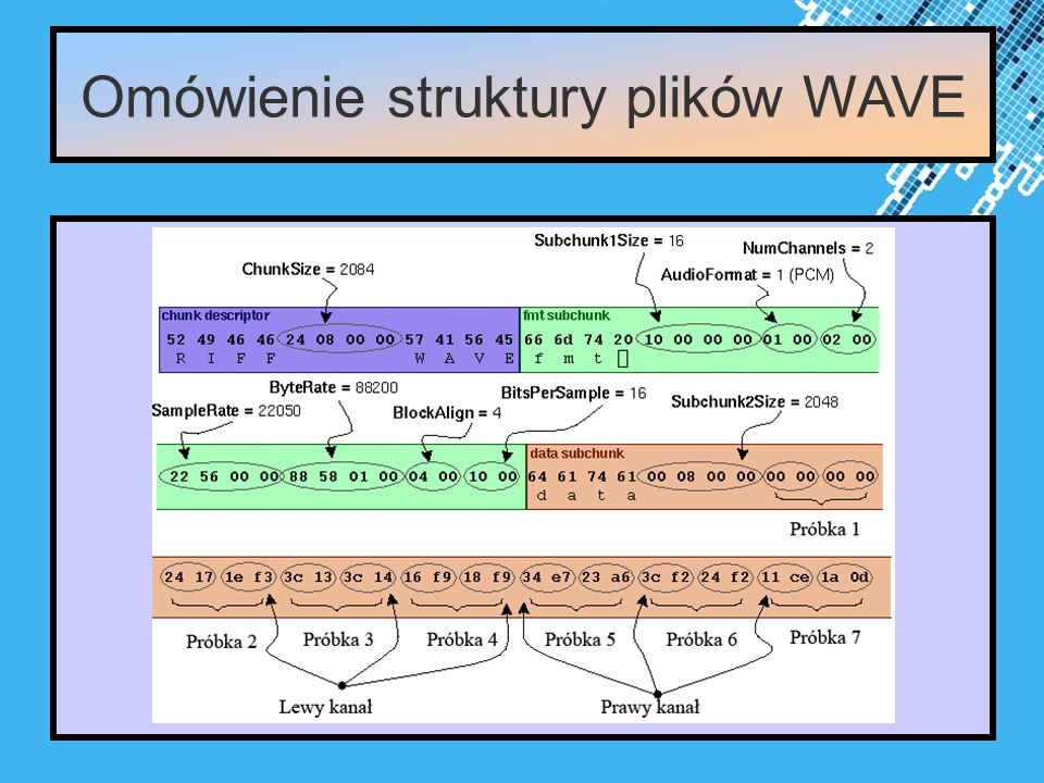 Powerpoint Templates Page 11 Omówienie struktury plików WAVE