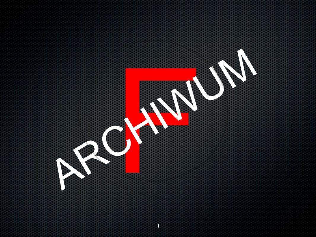 1 F ARCHIWUM