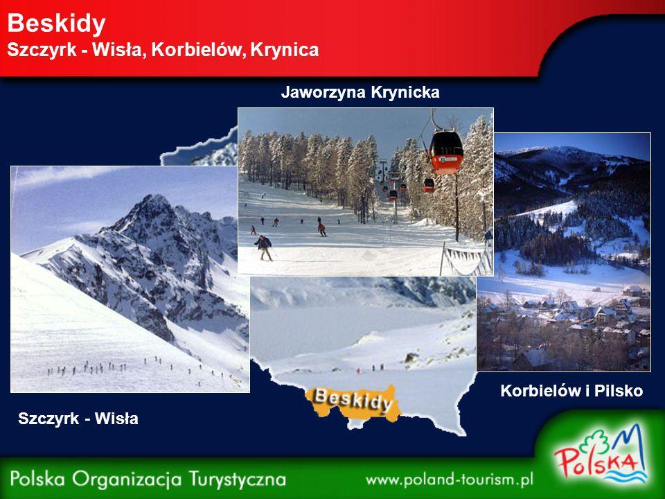 Beskidy Szczyrk - Wisła, Korbielów, Krynica Szczyrk - Wisła Korbielów i Pilsko Jaworzyna Krynicka