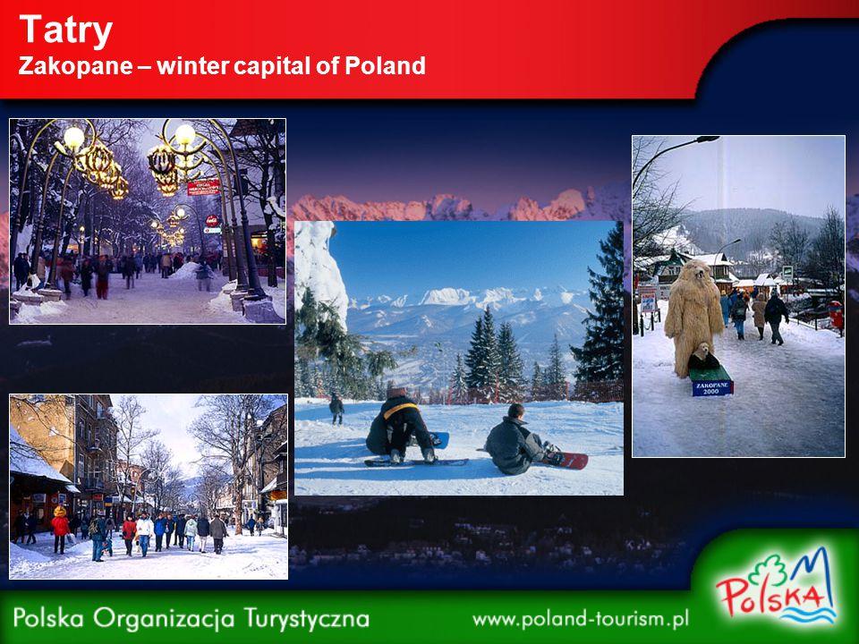 Tatry – Zakopane – ski trails Gubałówka – skier's heaven