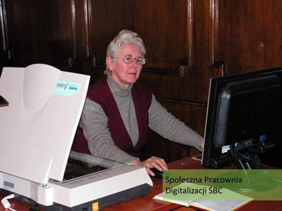 Społeczna Pracownia Digitalizacji ŚBC