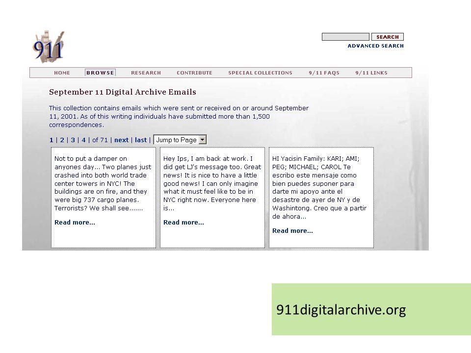 911digitalarchive.org